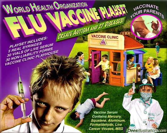 Fake Man Made Virus Pandemics