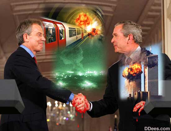 False Flag Bush Blair