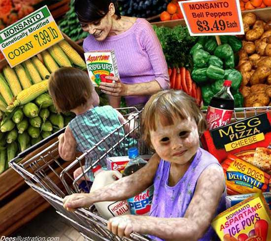 GMO Shopping Monsanto