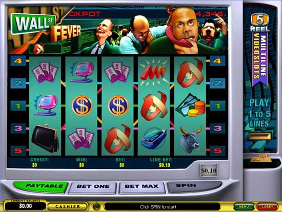 Wall Street Slot Machine