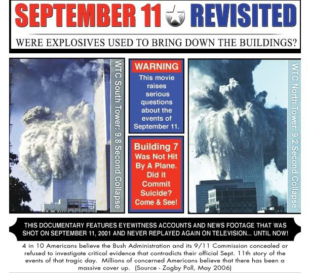 911 Revisited - Were explosives used?