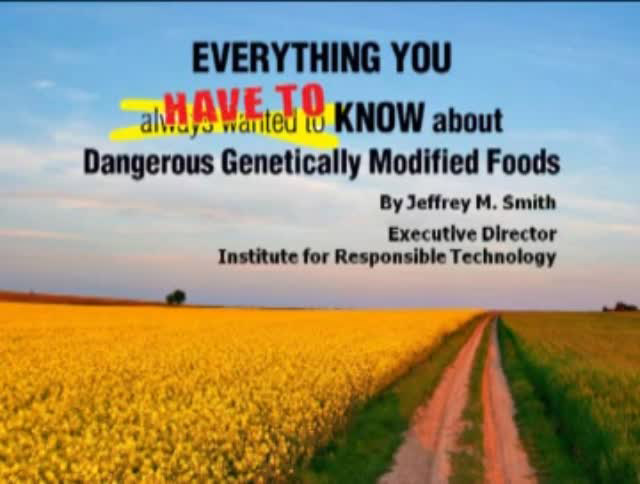 Everything you have to know about Dangerous Genetically Modified Food